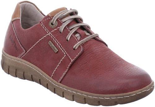 Josef Seibel Steffi 59 Lace Ladies Shoes Red